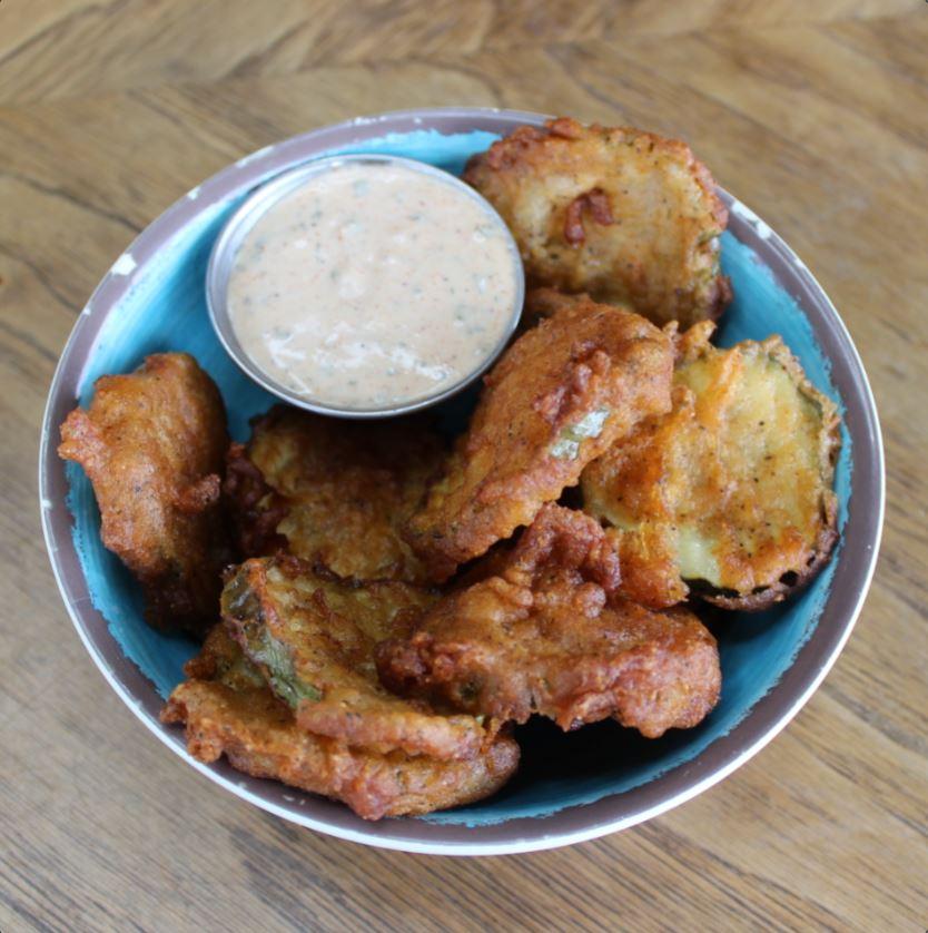 Fried Pickles + Cajun Ranch
