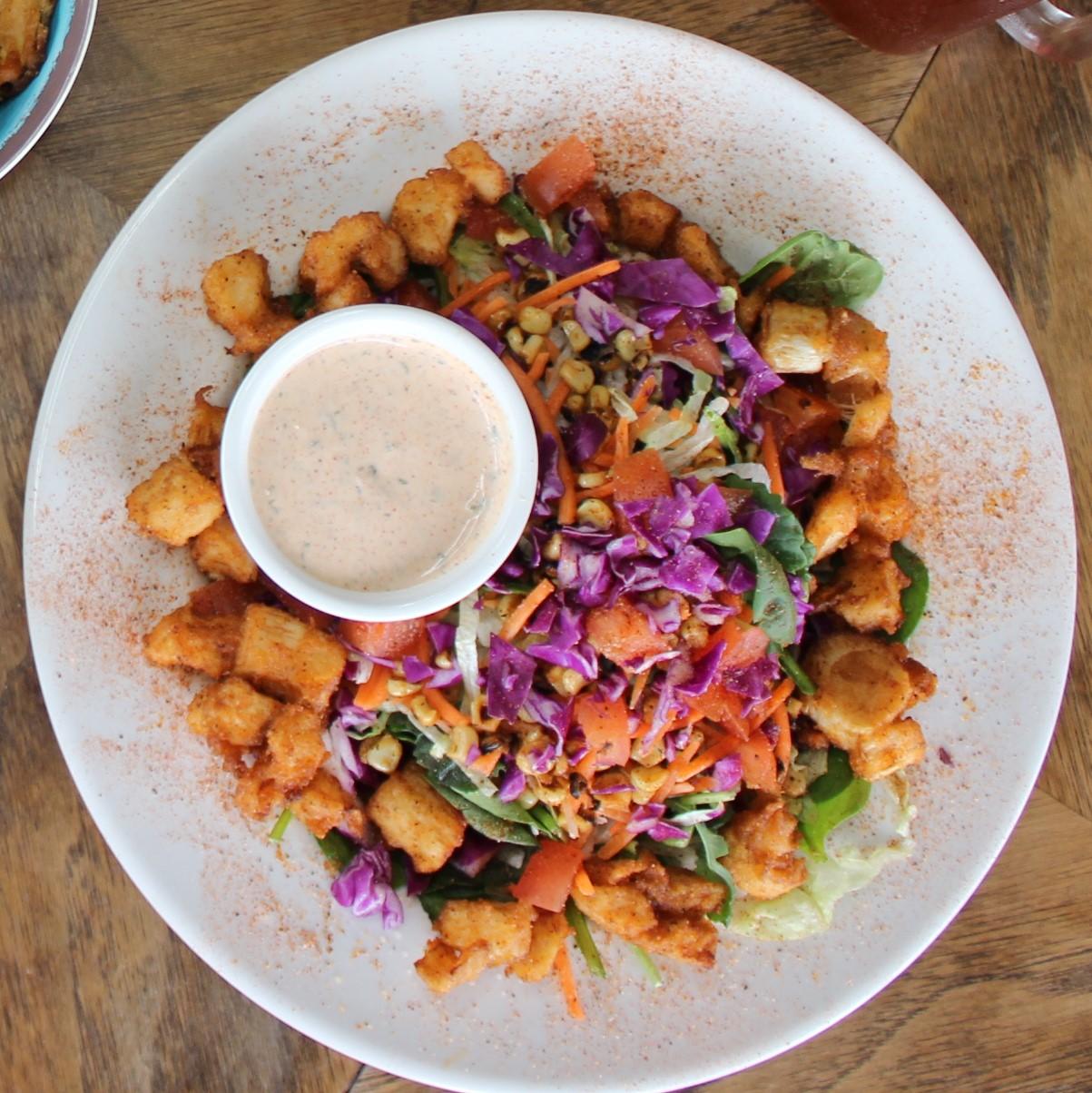 Palm Poboy Salad