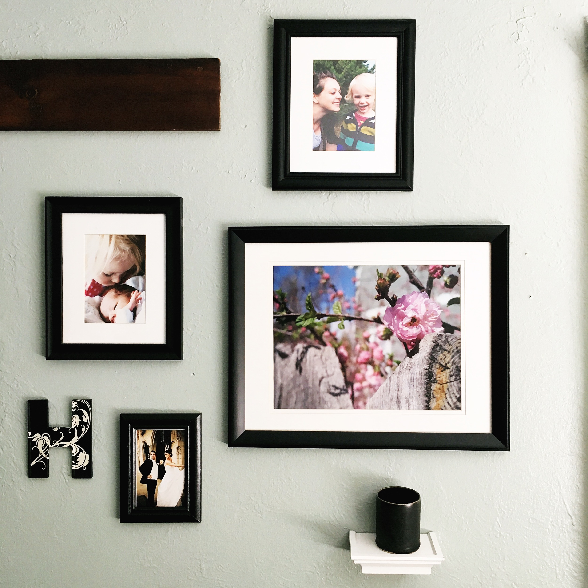Change out pictures to keep home decor fresh!
