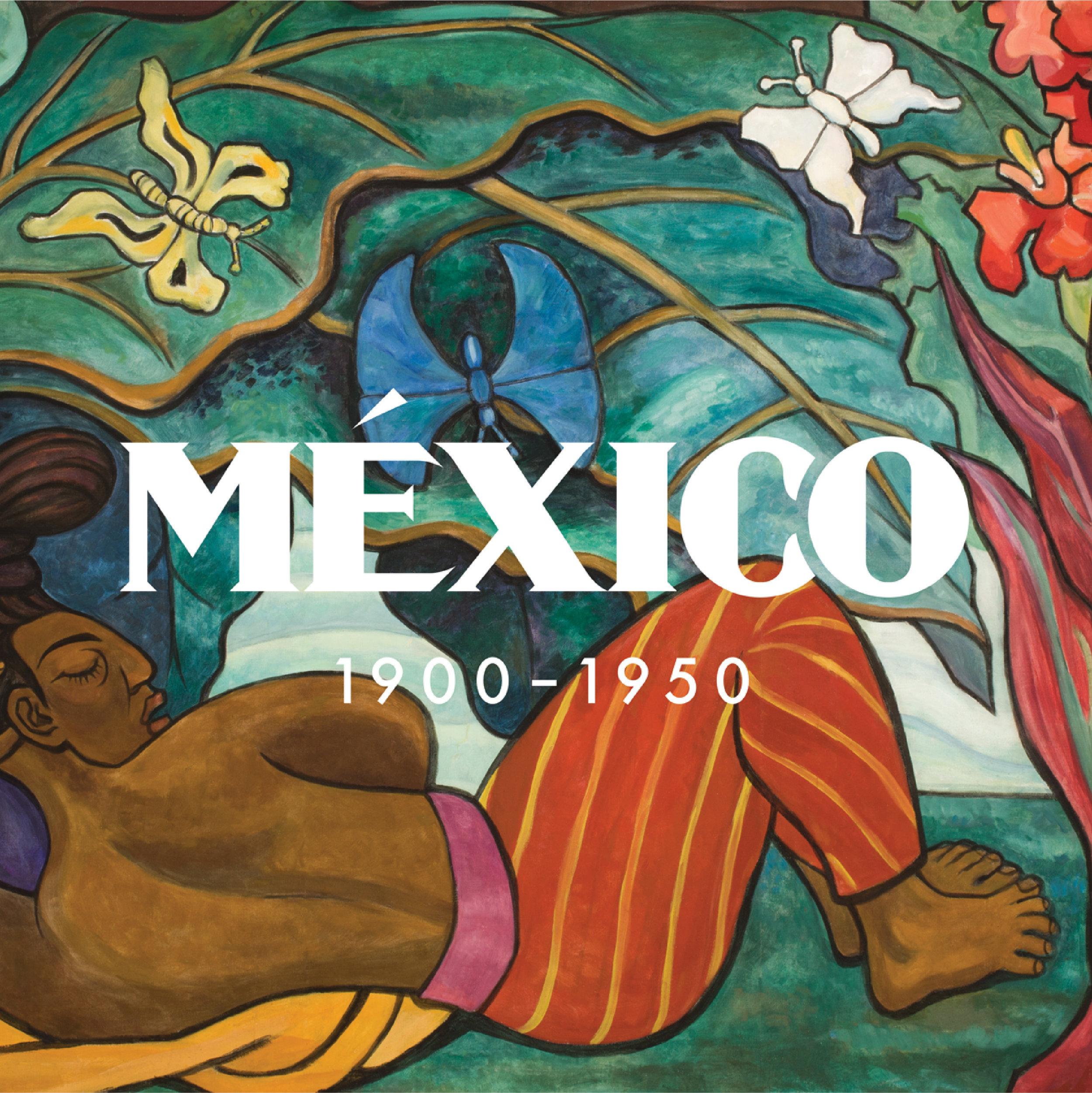 México: 1900–1950 Logotype