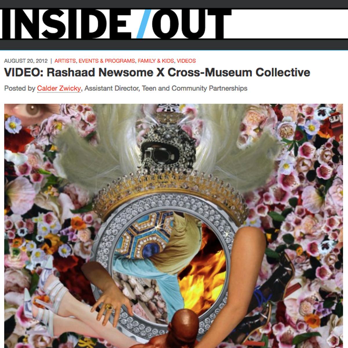 Rashaad Newsome X Cross-Museum Collective