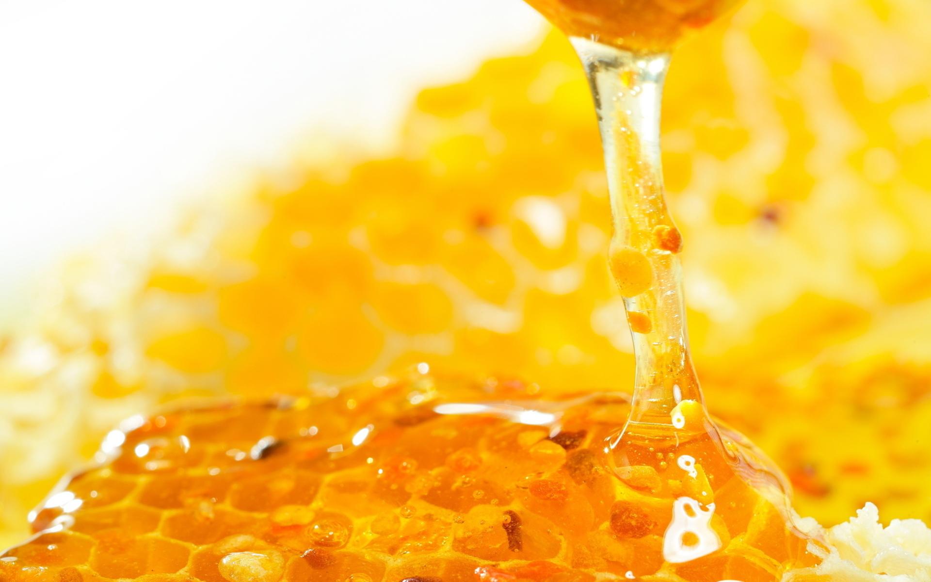 Medicinal raw honey unadulterated by heat.