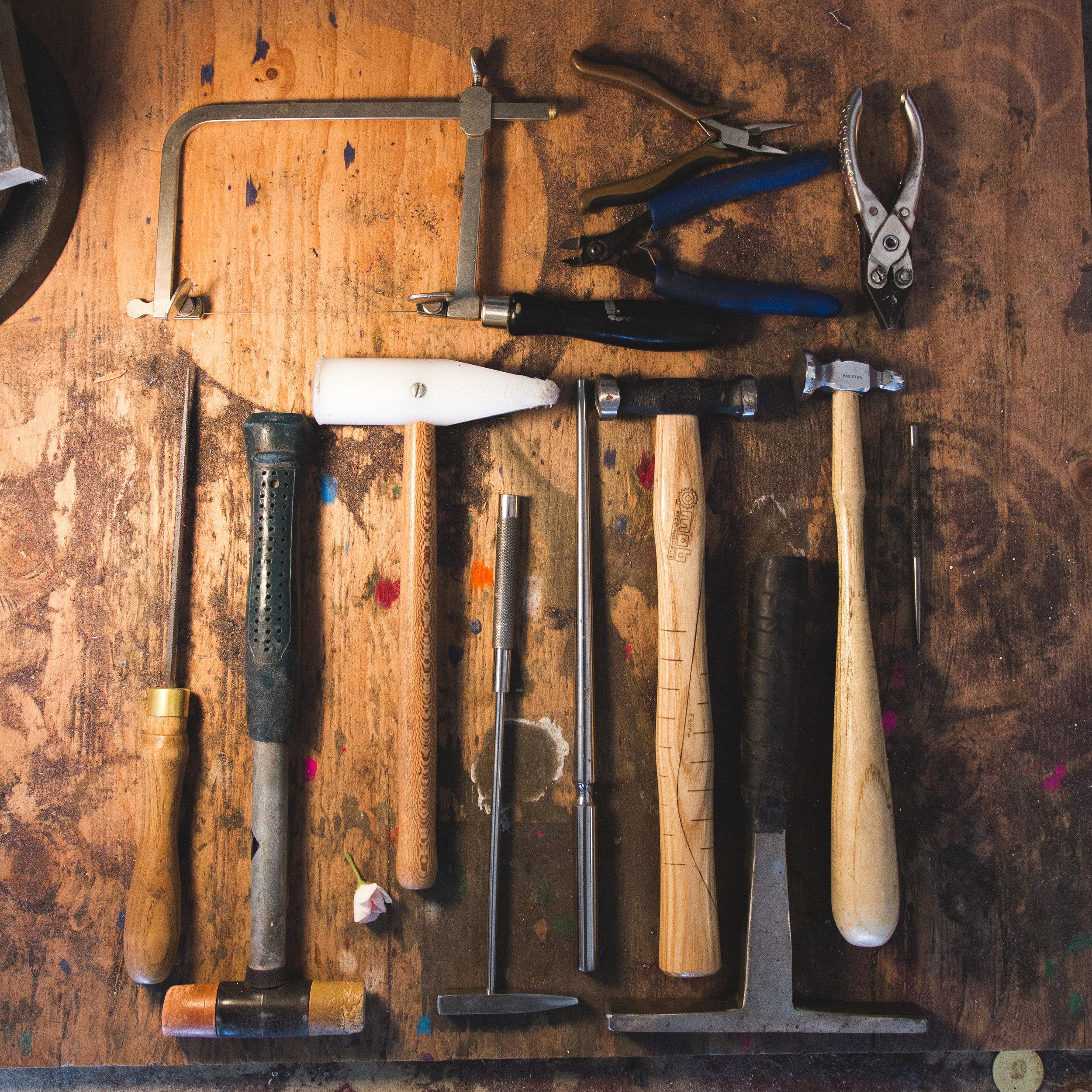 My trusty tools.