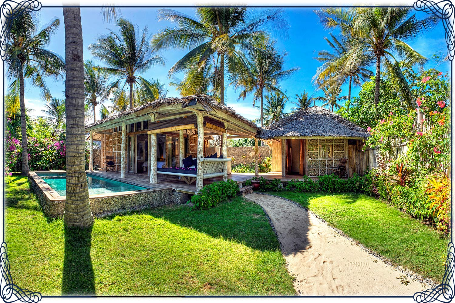 click to see the Villa Gili DELUXE 2 BEDROOMS