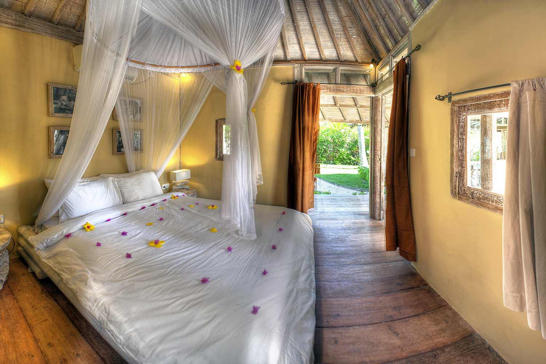 Second bedroom villa deluxe Gili Trawangan Indonesia