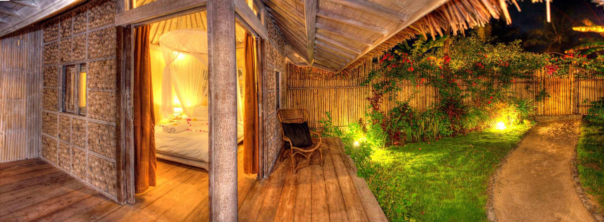 Garden by night Villa deluxe 2 bedrooms