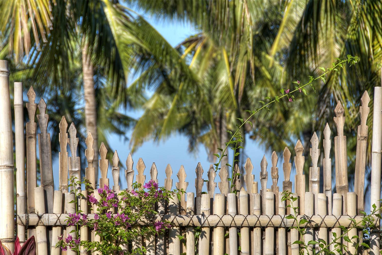 bamboo decoration villa ottalia