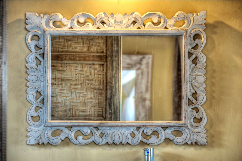 Mirror bathroom Villa deluxe les villas Ottalia