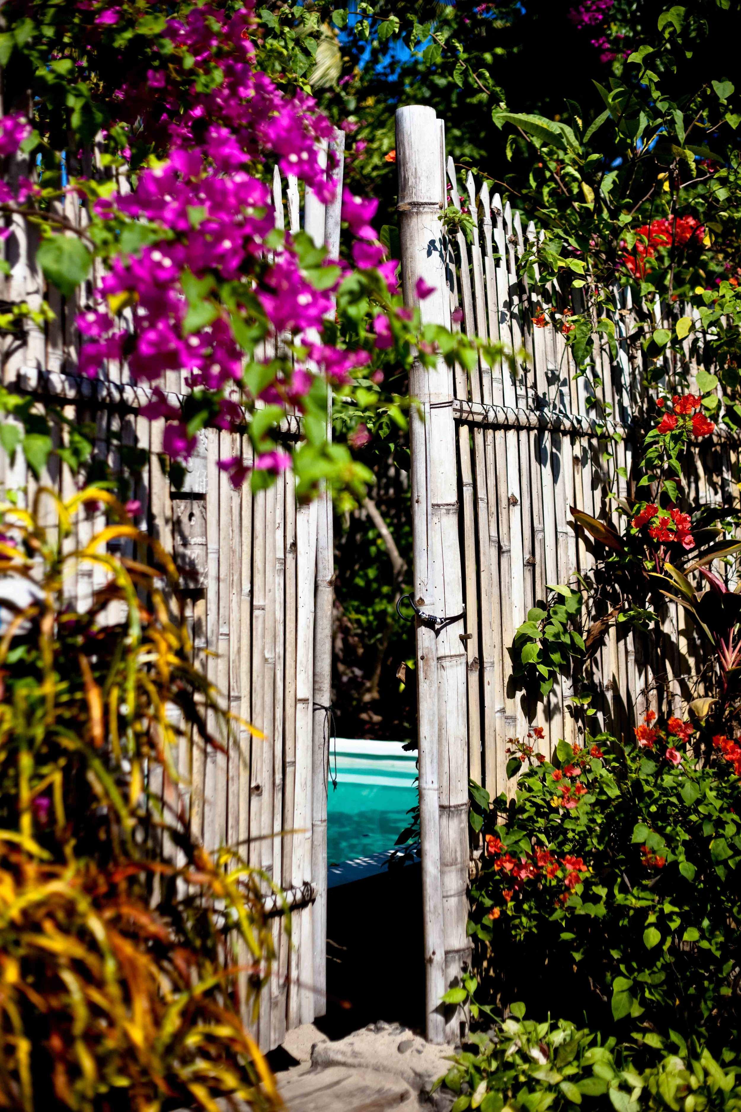 Door bamboo villa Ottalia gili trawangan