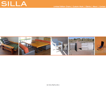 Furniture Website design and production.