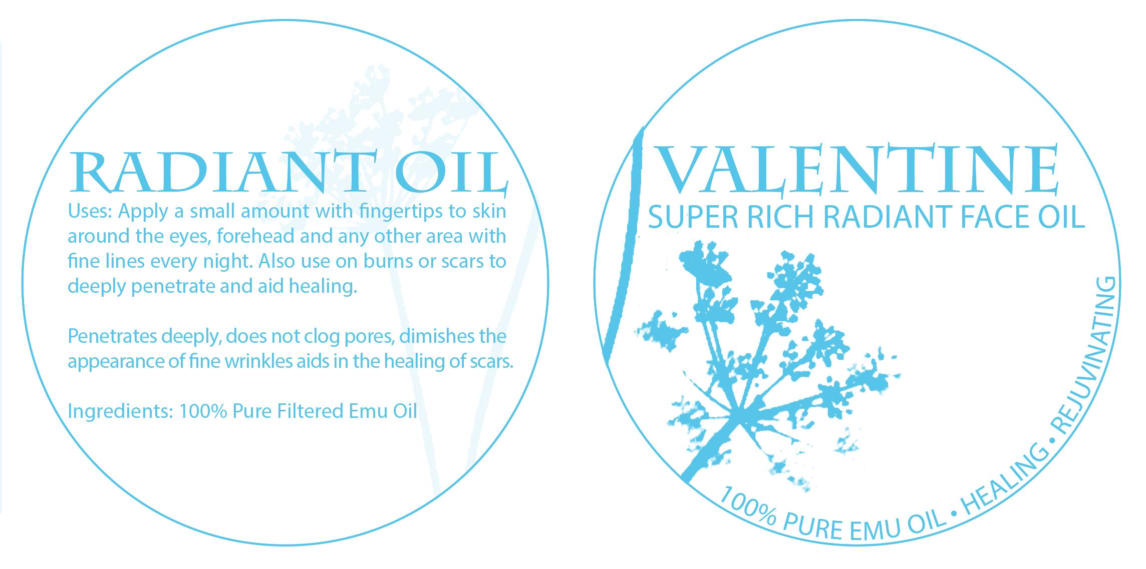 Valentine Botanicals Brand Identity Creation Packaging design