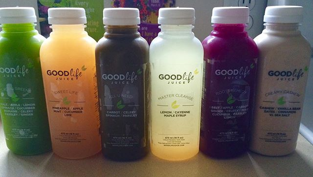 Cleansing time!! 💖💖 @goodlifejuice