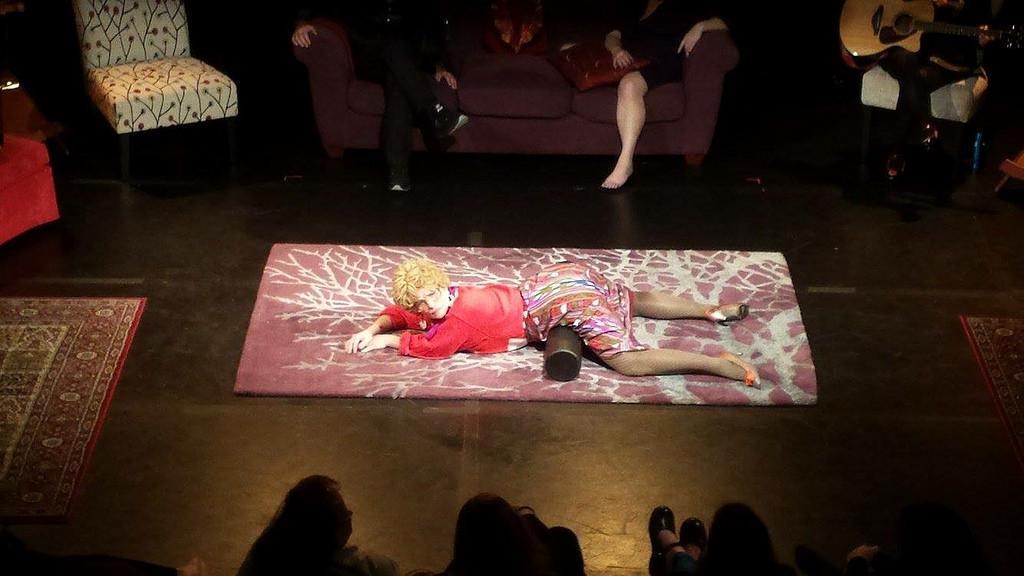 Dr Tallulah, Revelations Festival, Dance Naked Productions Theater, Portland, Oregon, 2016