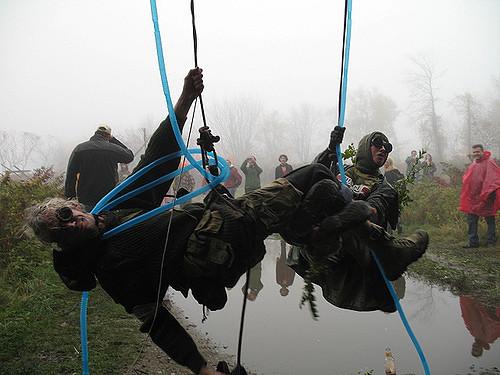 Crash Landing, fallen aviators  Crank Sturgeon  & Kelly Nesbitt