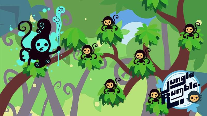 Disco Pixel's latest game, Jungle Rumble.