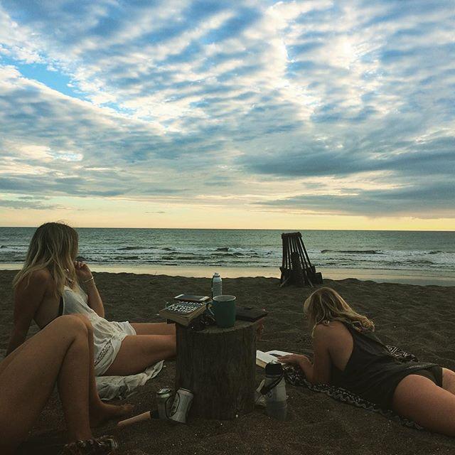 Playa Popoyo, Nicaragua. The simple life is on the beach!