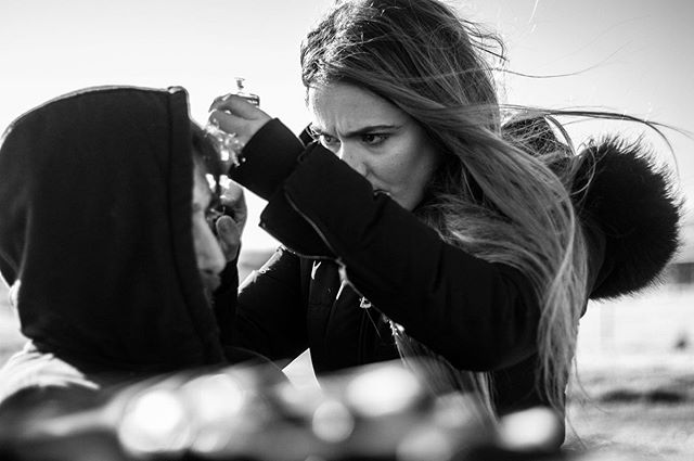 Some #bts action shots from feature film #Rage Day 19.. Why so angry? 🤷♀️ captured by @tony.kots.photography . . . . . #star #makeupgeek #makeuplooks  #moviestar #makeuptalk  #actress #actor #makeupobsessed #makeuplife #filmmakeupartist  #actorslife #makeuplovers #instamovies #thriller #makeupbyme #makeupart #movies #makeuplove #cinema #makeuplover #actors #makeuplook #goodmovie #makeupoftheday