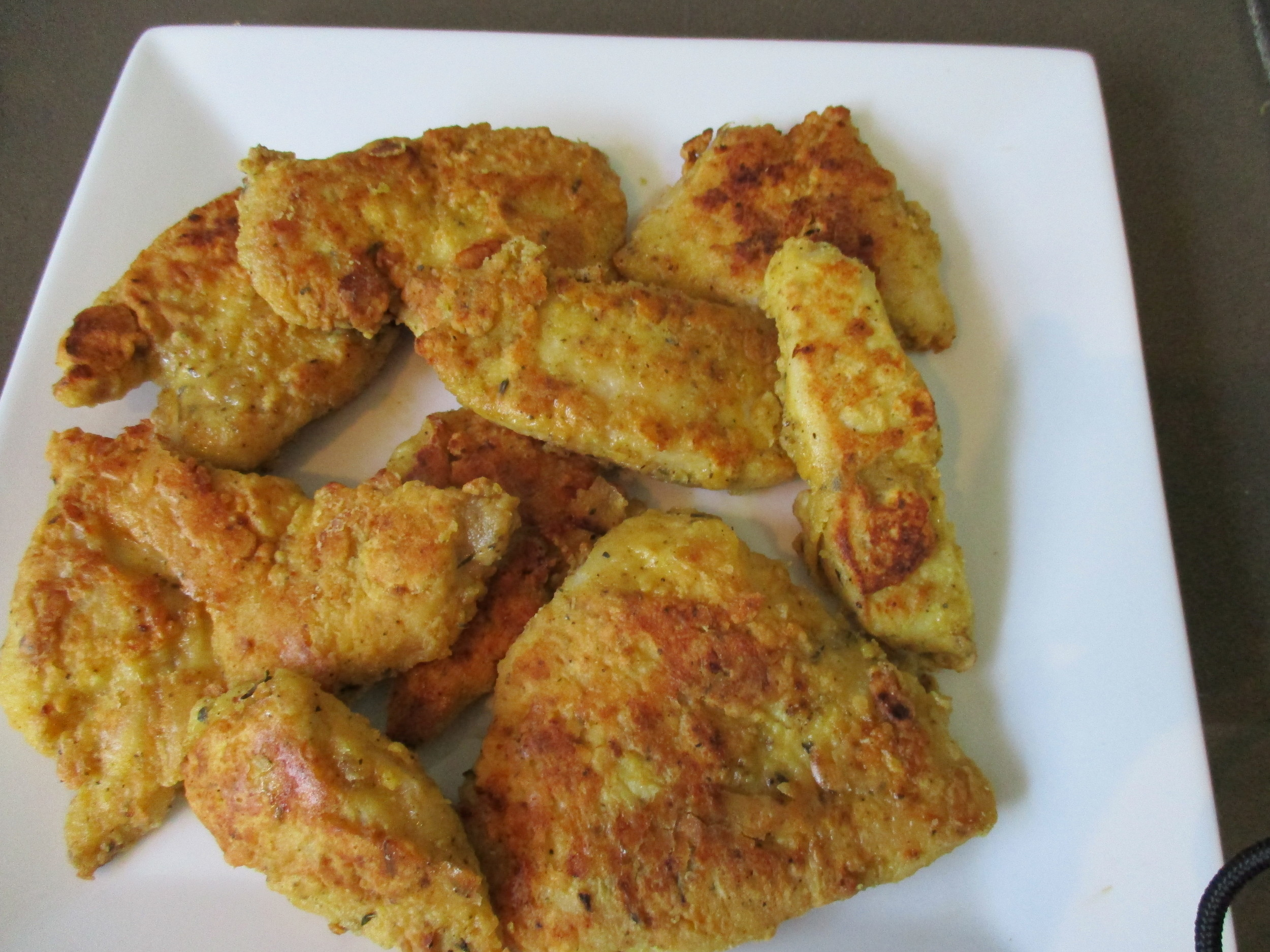 Grain Free Gluten Free Chicken Nuggets