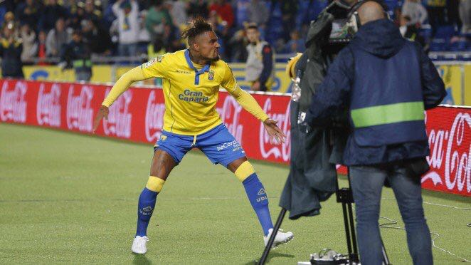 Kevin Prince Boateng, protagonista de la noche, anota su 8º gol en Liga