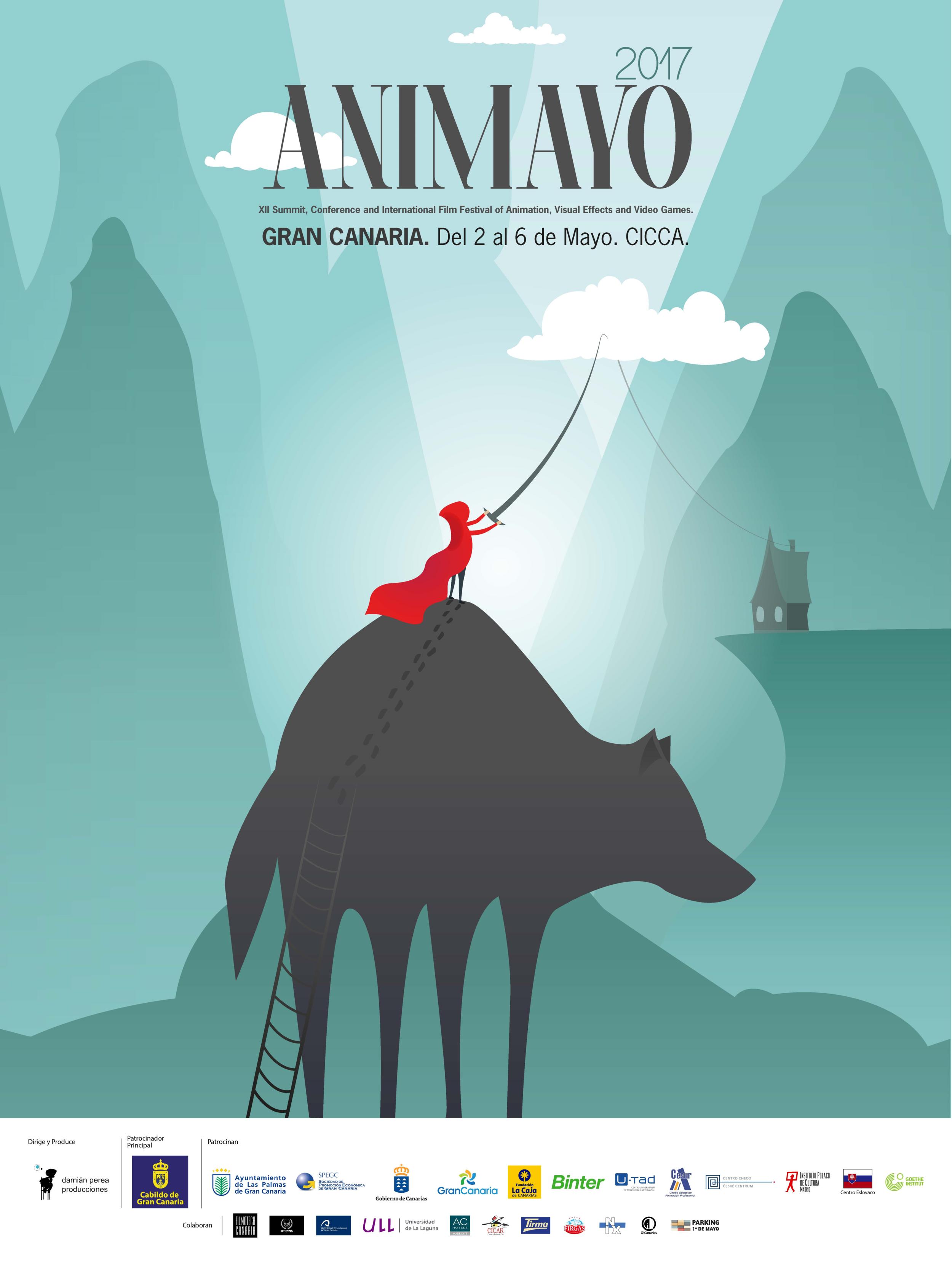 Cartel oficial de Animayo 2017