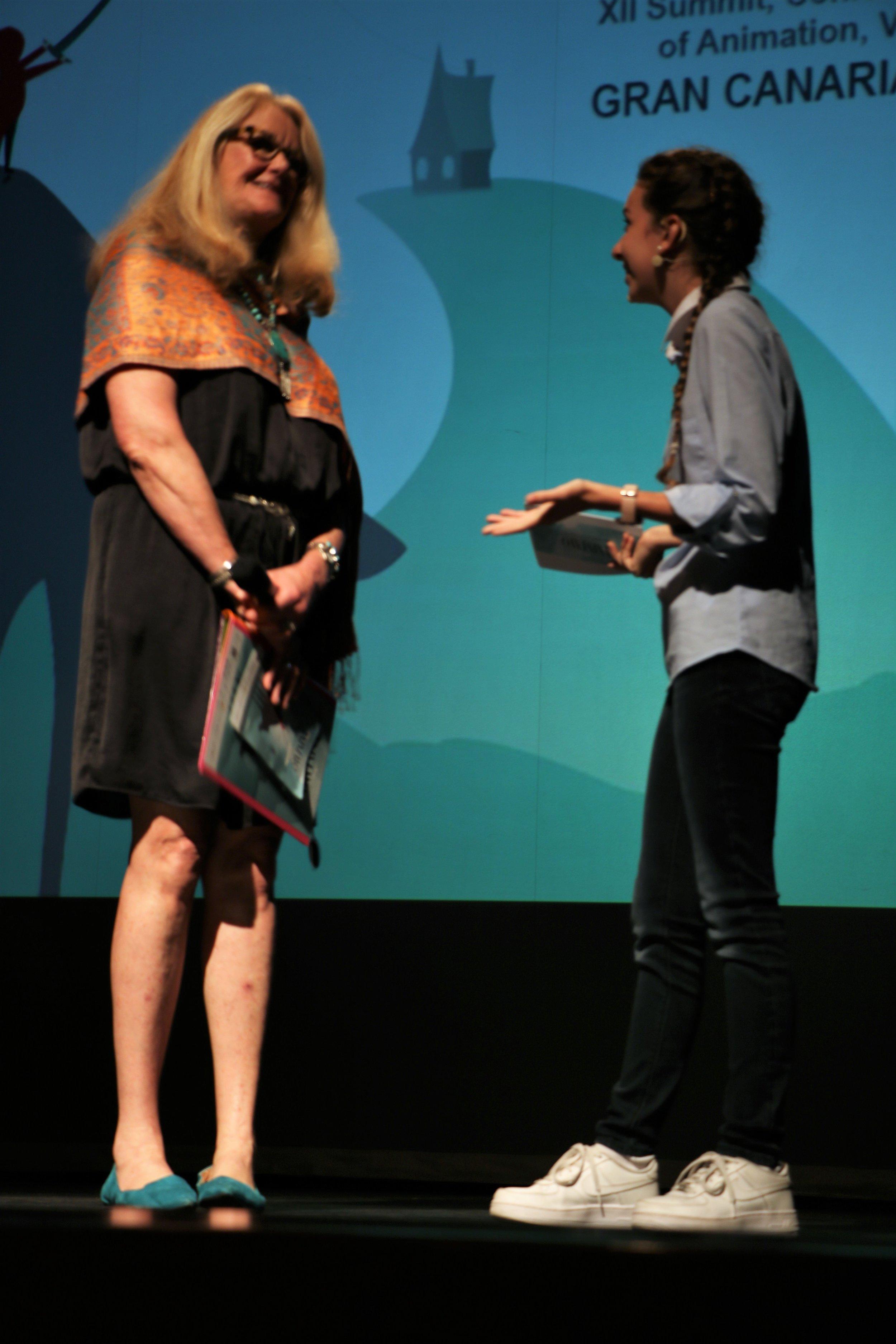 Jean Thoren, directora y editora de THE WORLD ANIMATION MAGAZINE