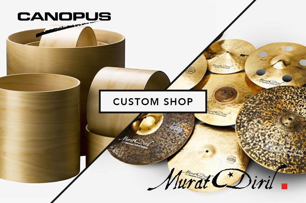 Canopus & Murat Diril Custom shop France