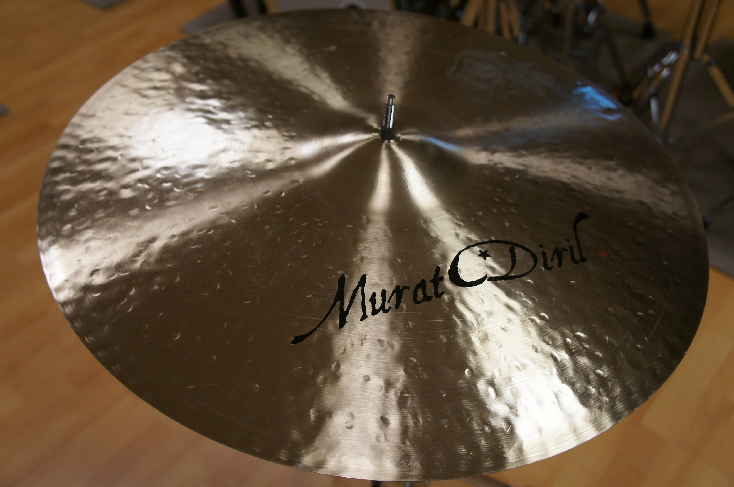 "RIDE 21"" - Jazz prototype - CUSTOM SHOP by MURAT DIRIL"