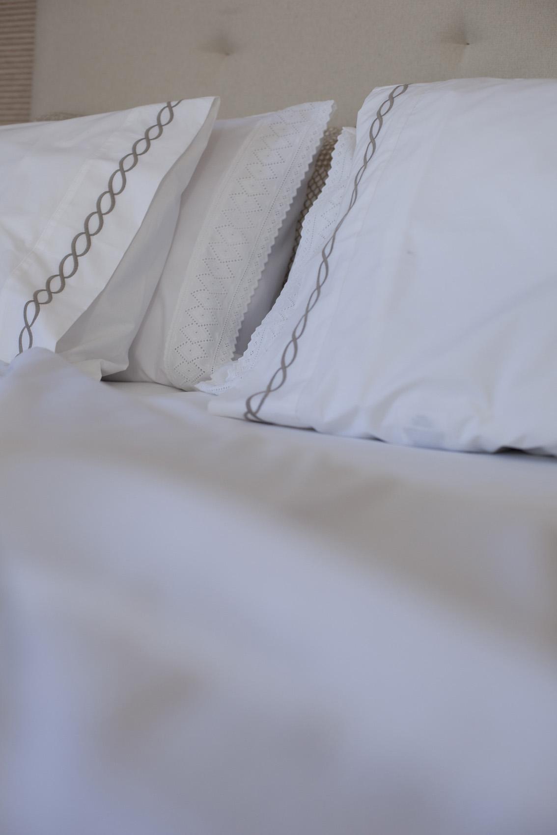 Cuidados com a roupa de cama branca