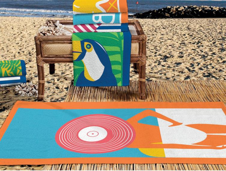 toalha de praia perfeita