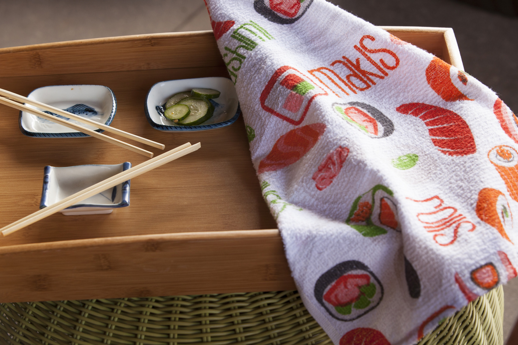 SUSHI | Sugestão de uso: jantar com comida japonesa