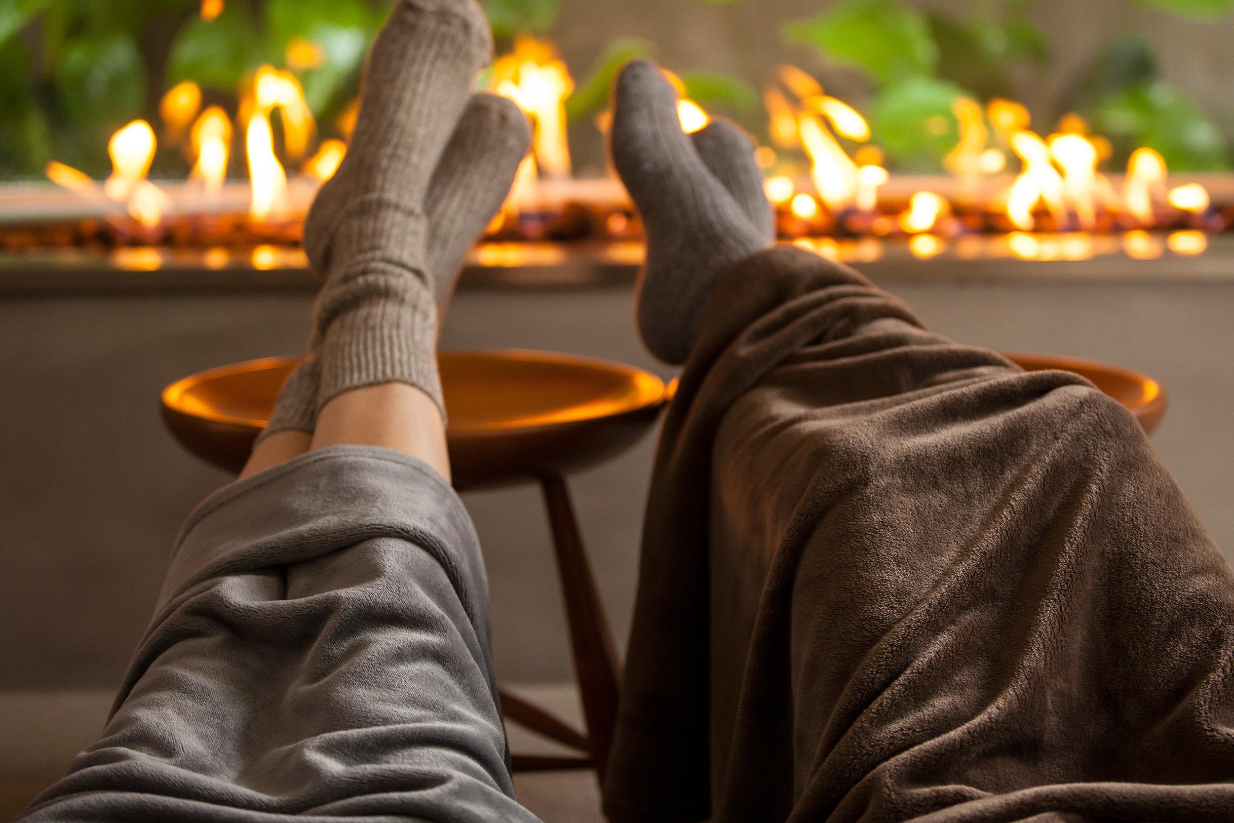 Mantas e cobertores para deixar a casa mais quente no inverno