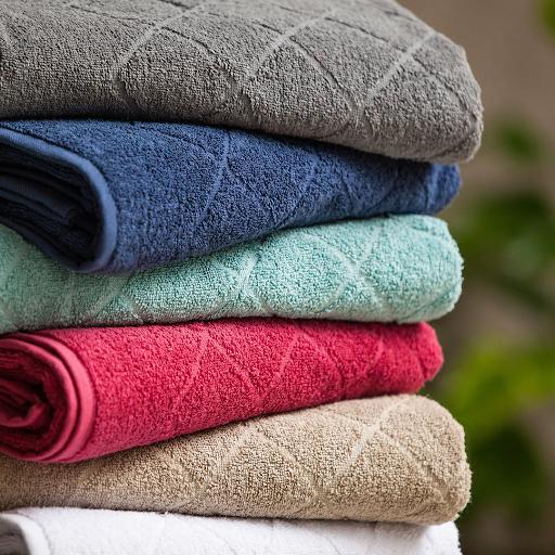 como amaciar toalhas de banho