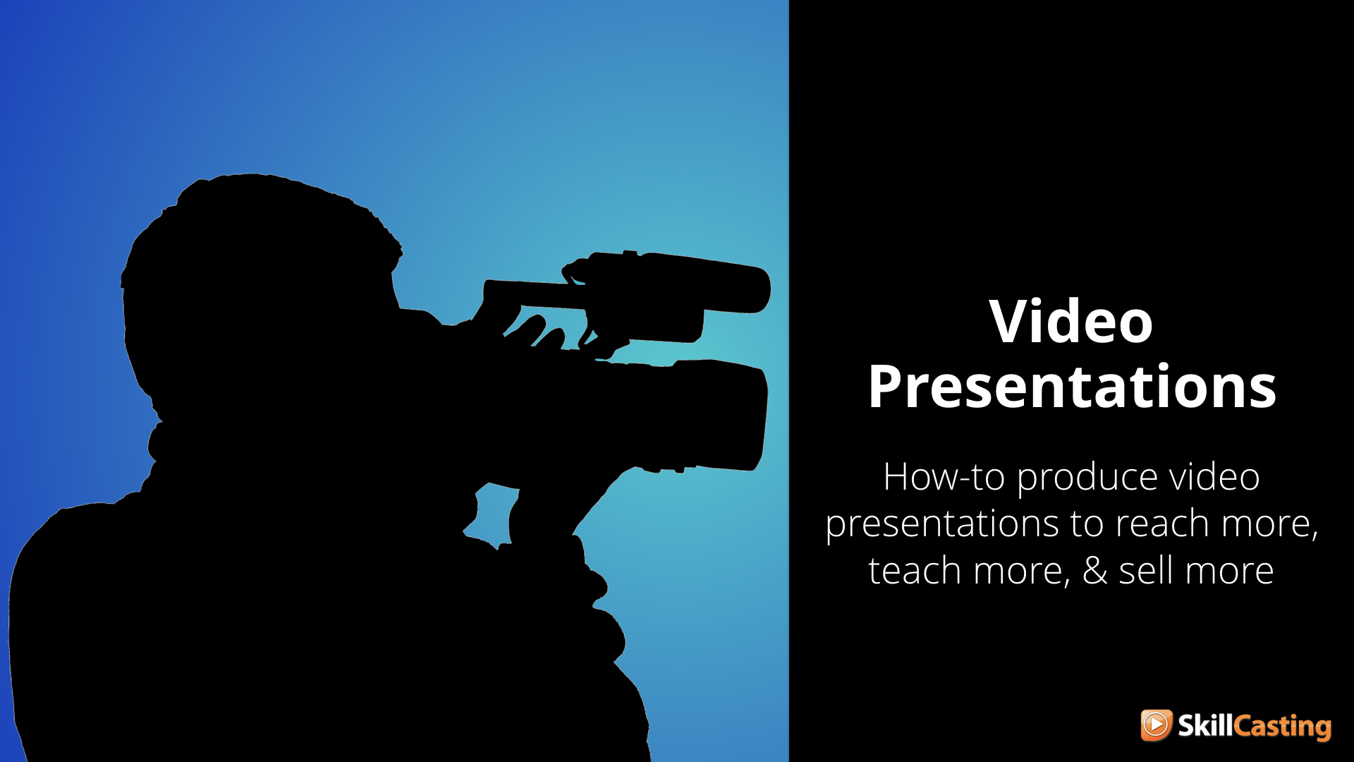Learn more about my new  Video Presentations course