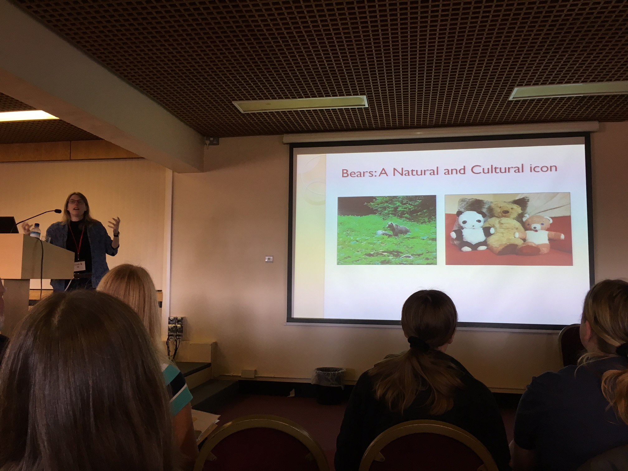 A fascinating talk on the cultural and natural significance of Bears in the UK and how our depiction of them through time gives a clue as to whether they were still at large in the countryside or whether the residing only in Man's cages