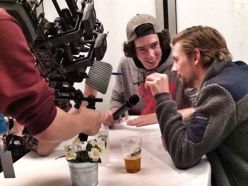 Dreharbeiten mit Joko & Klaas