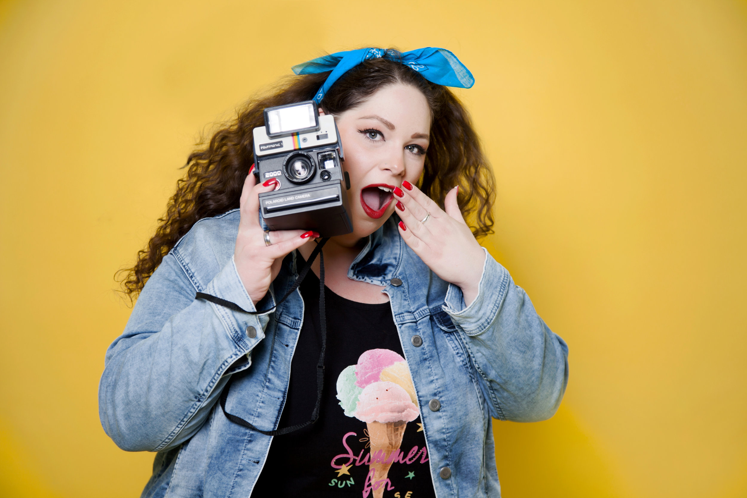 Fotoshooting mit der Miss Plus Size Jana