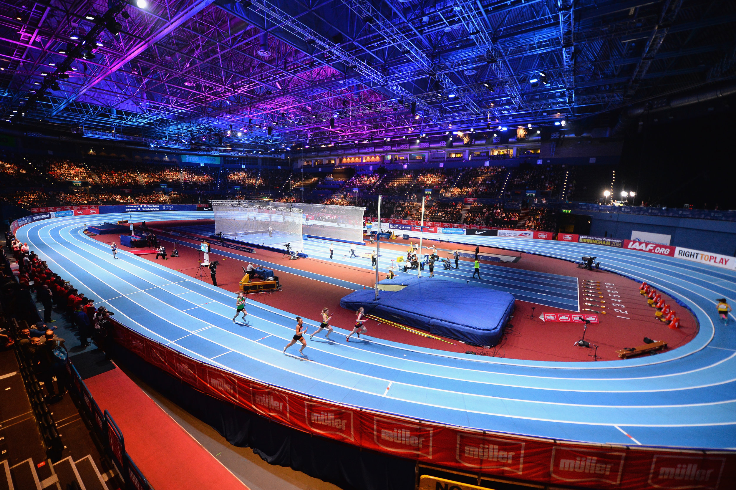 Müller International Grand Prix at the Birmingham Barclays Indoor Arena (Credit: British Athletics/Getty Images).