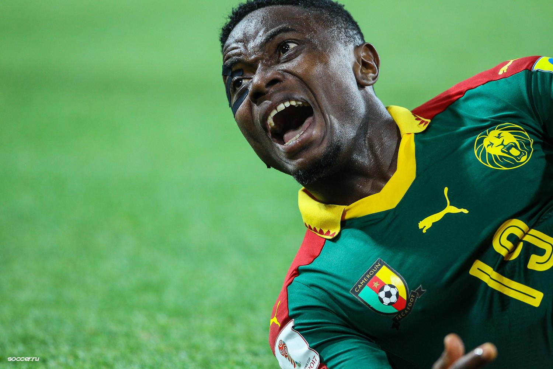 Cameroon's Collins Fai