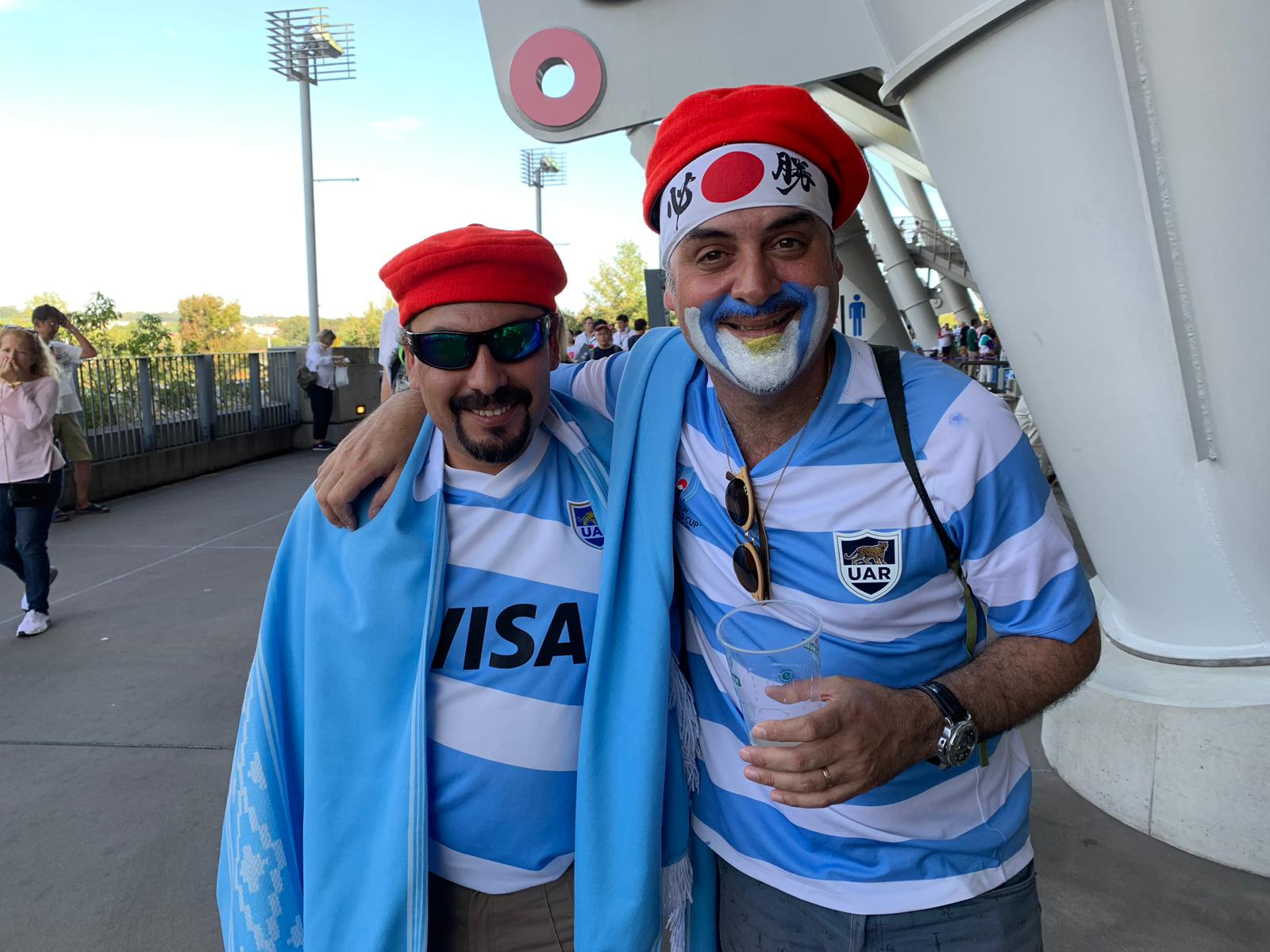 Connecting with Rugby fans from all over the world!