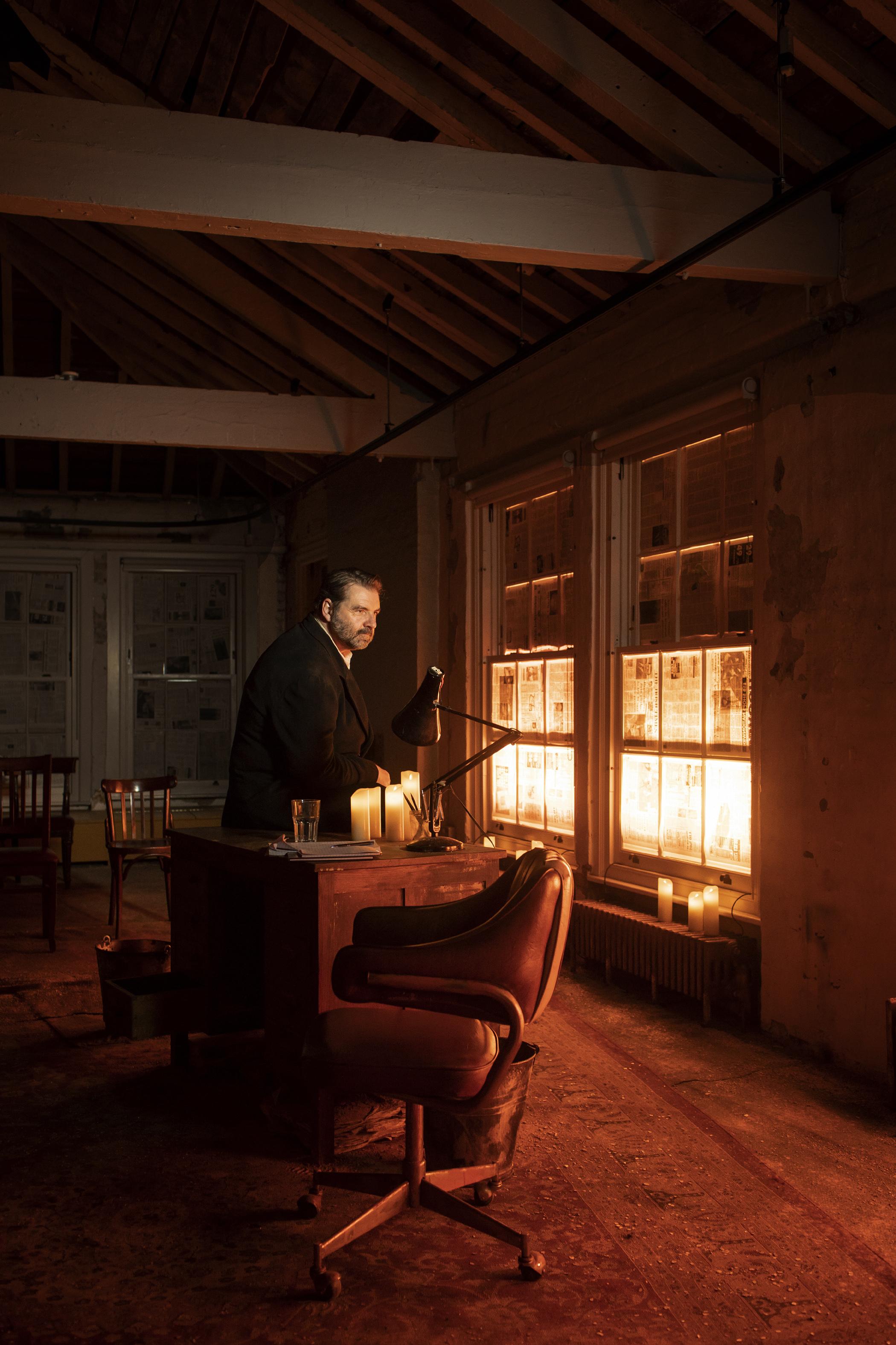 Brendan Coyle in St Nicholas photo copyright Helen Maybanks