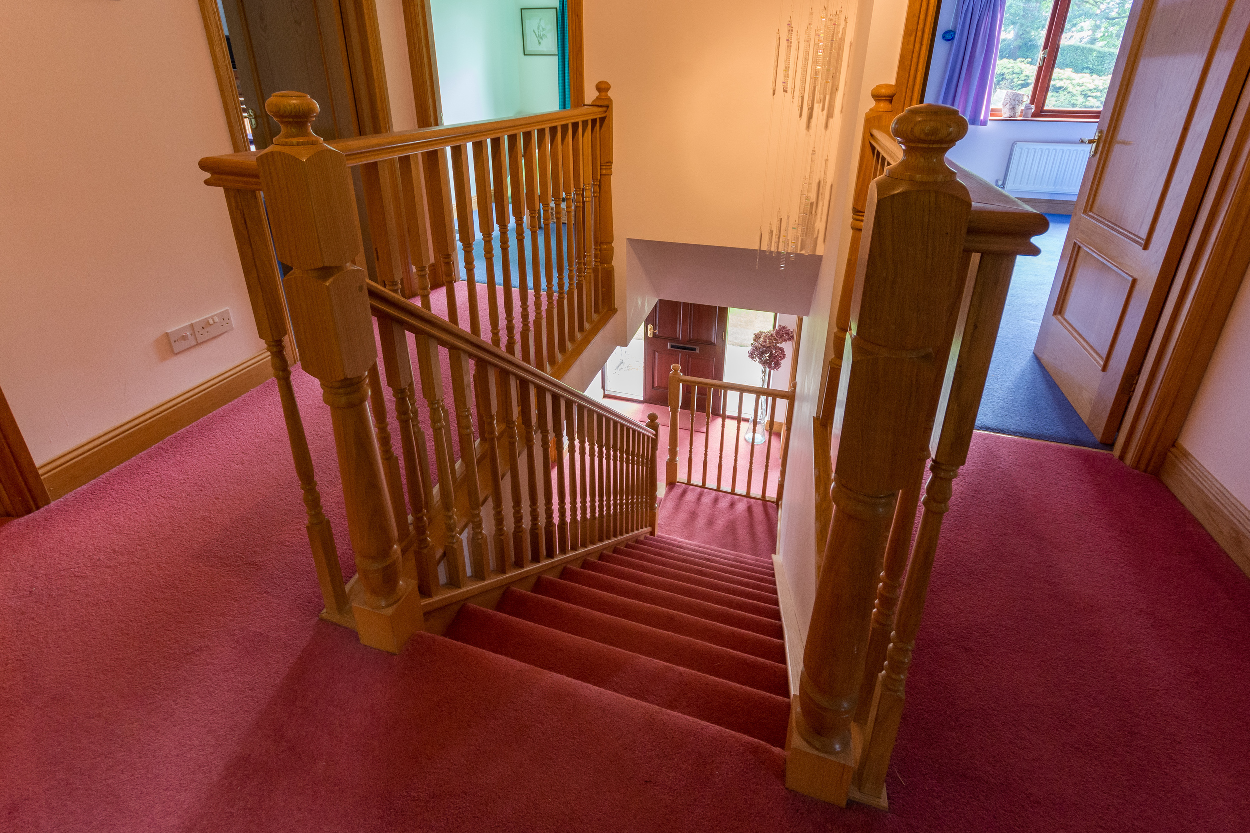 Upstairs Landing & Stairs - Beech Nook Thornthwaite, Keswick Holidays Self Catering.jpg