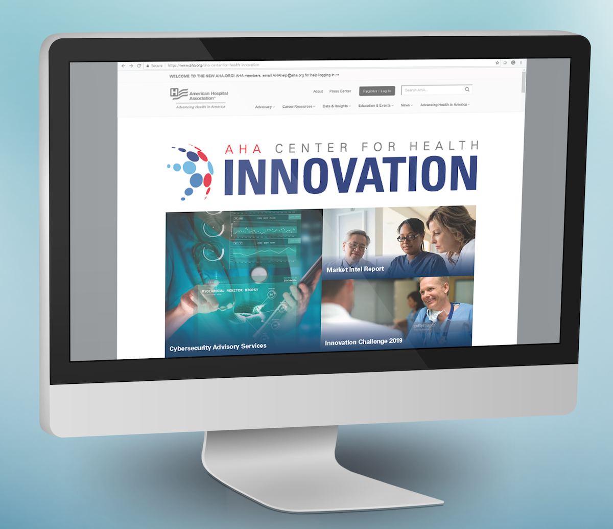 AHA Center for Health Innovation Website