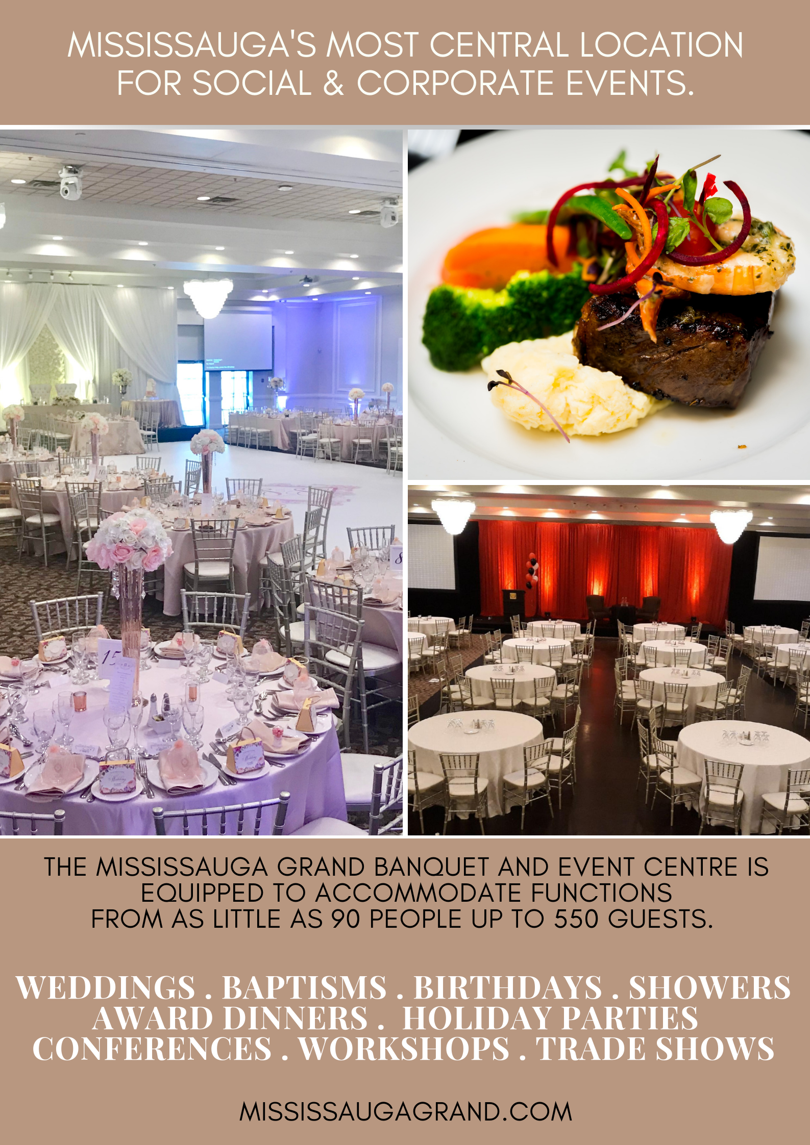 wedding banquet hall, wedding reception venues, small wedding venues, wedding banquet, Mississauga