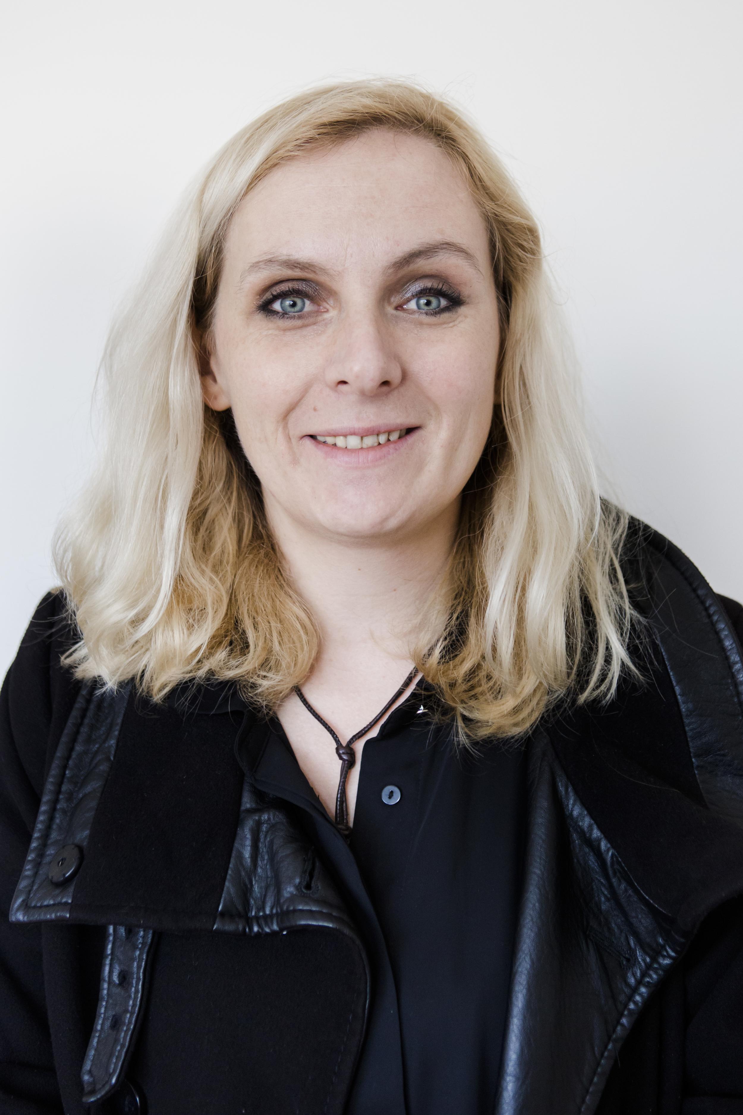 Lucia Bleibel, Sozialarbeiterin beim internationalen Bund