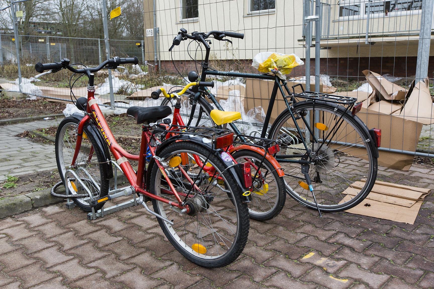 Fahrräder sind sehr begehrt