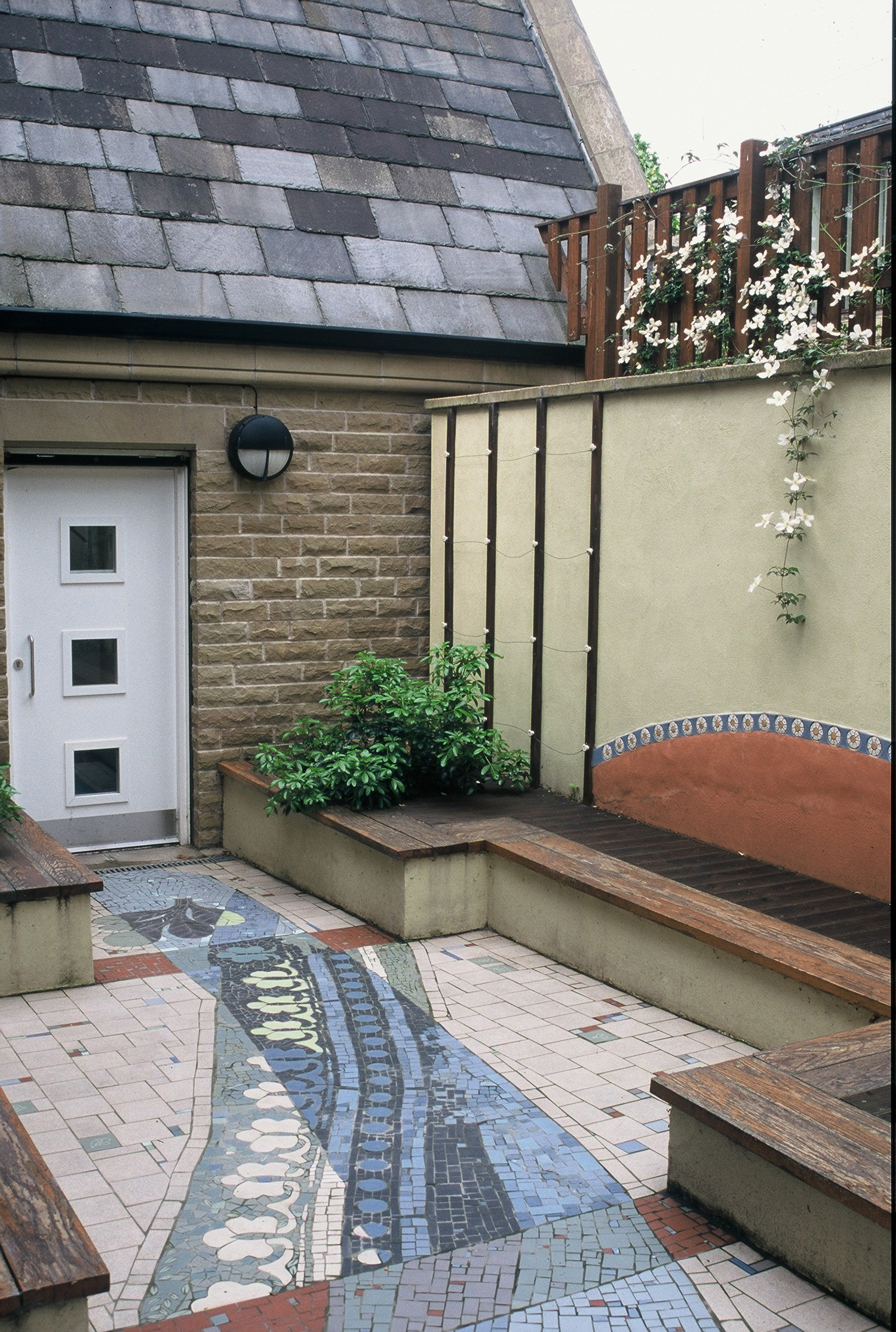 Bagshaw Museum Courtyard