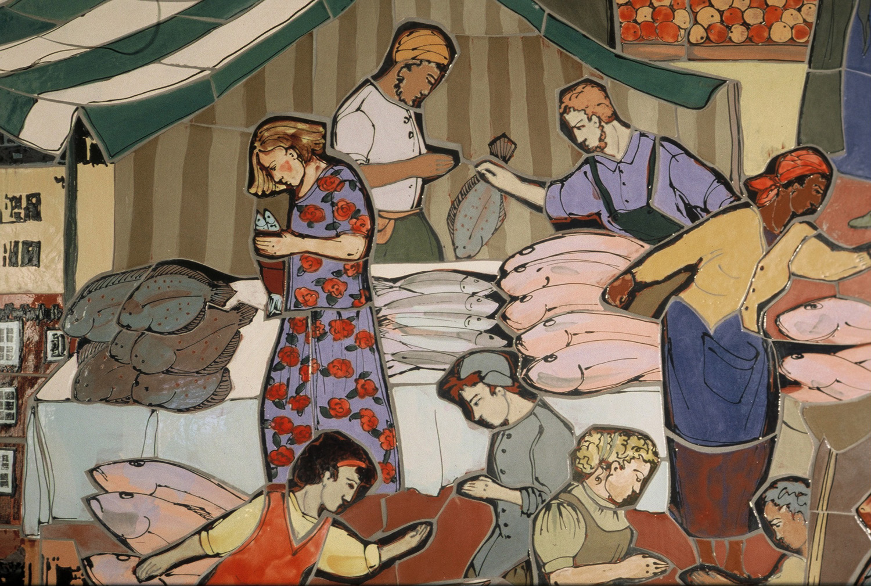 'Northampton Market', detail