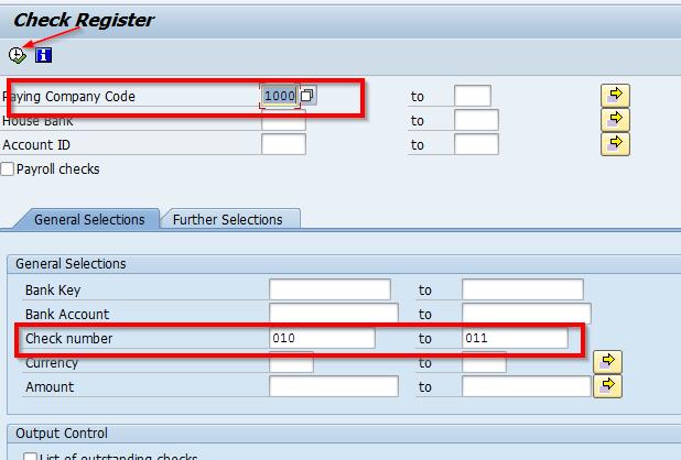 SAP Tips: Reassigning Checks