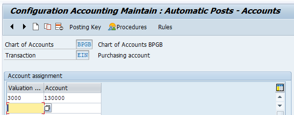 Material Ledger with Purchase Account Management