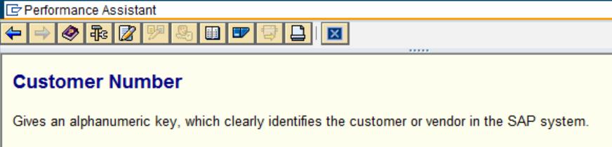 SAP Table Help